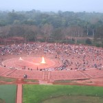 Auroville Amphitheater morning