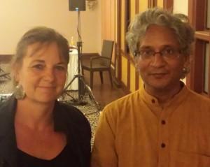 mit Dr. Sankaran beim Goa Seminar 2015Seminar